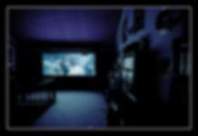 Grande image dans un home cinéma à Paris