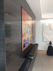 Ecran TV mural intégré
