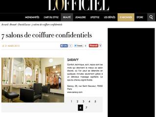 Saravy Paris Montorgueil sélection de l'Officiel