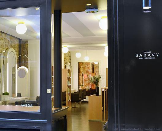 Salon de coiffure Saravy Paris