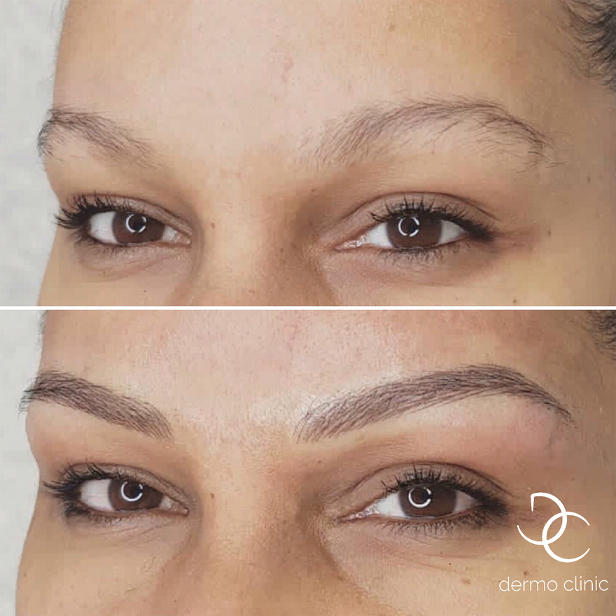 Maquillage permanent sourcils et eyeliner