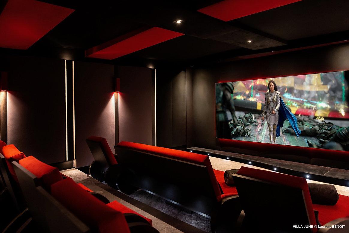 Cinéma privé luxe Saint Barthélémy