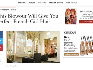 Vogue USA aime Saravy Paris Montorgueil