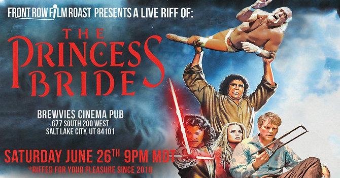 Riff of THE PRINCESS BRIDE
