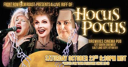 Riff of HOCUS POCUS Oct 23rd