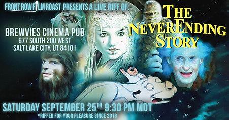 Riff of THE NEVERENDING STORY Sept 25th