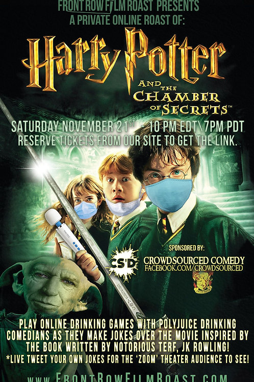 Online Roast of 'Harry Potter and the Chamber of Secrets