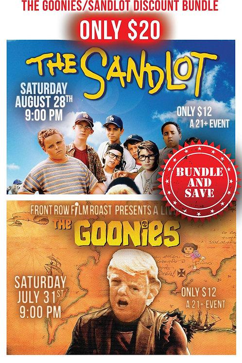 THE GOONIES/ SANDLOT DISCOUNT BUNDLE
