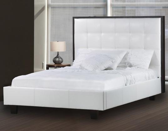 163 Queen Headboard/Bed/Storage