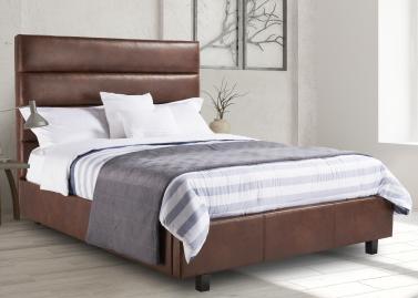 162 Queen Headboard/Bed/Storage