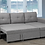 Thumbnail: T-1245 Pull-Out Sofa Bed
