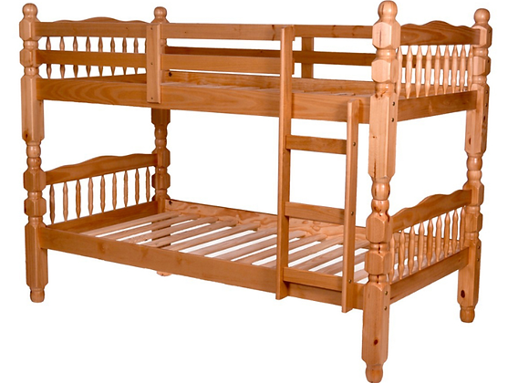 """2600 Bunk Bed Twin/Twin 3"""" Post"""