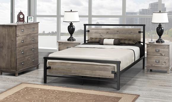 2339 Platform Bed - Single