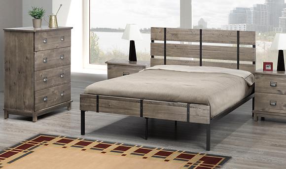 2337 Platform Bed - Double