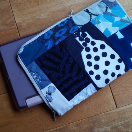 ミナペルホネン パッチワーク iPadケース