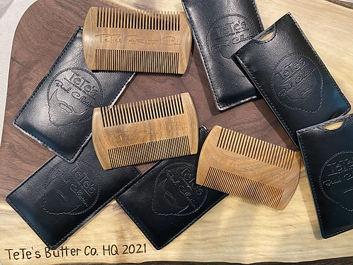 Beard Comb with pouch
