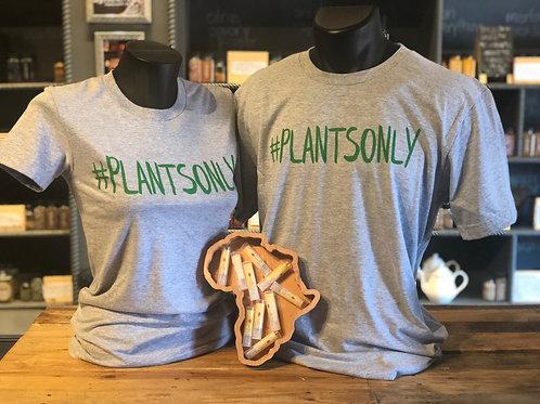 #plantsonly T-shirt