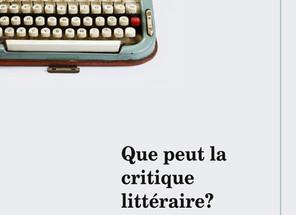Ces critiques littéraires qui n'aiment pas la littérature