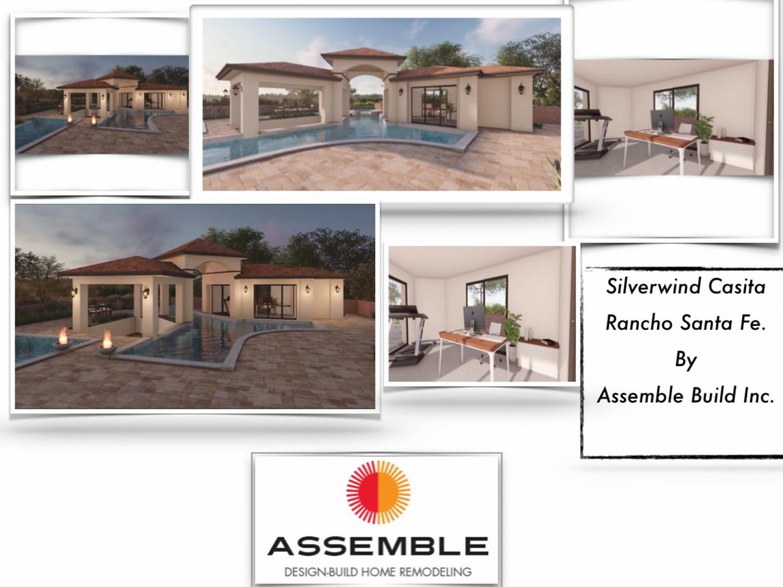 Pool | Outdoor Kitchen | Remodel | Assemble Build | Rancho Santa Fe | Design