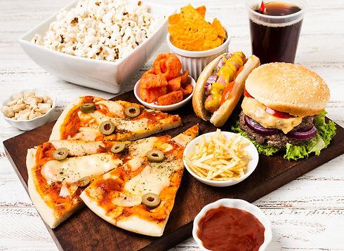 high-angle-fast-food-white-table.jpg