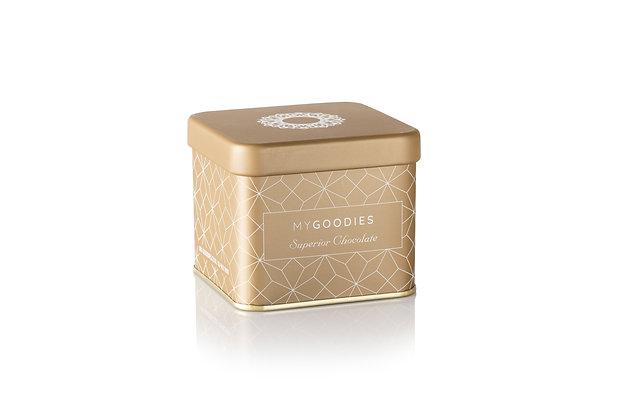 שוקולד לאורחים בקופסת מתכת יוקרתית במגוון צבעים