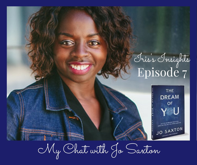 Episode 7 - My Chat with Jo Saxton
