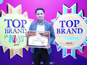 STIMUNO Raih Top Brand for Kids Kesepuluh