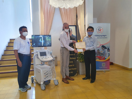 Dynamic Argon Cambodia Donates to Support Free Medical Treatment for Children's Health in Cambodia