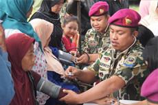 Bakti Sosial Dharma Dexa, OGBdexa dan TNI AL di Subang