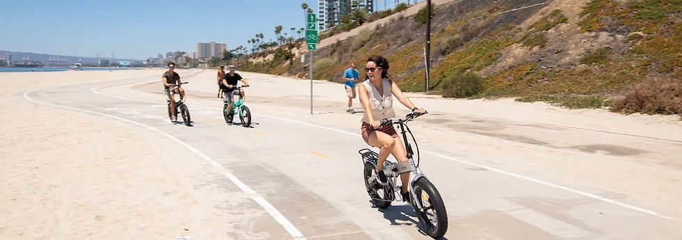 Stopped The Ban on electric bikes on the Huntington Beach Boardwalk