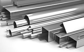 Stainless steel, iron work, hollow section, flat bar, angle bar