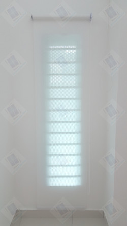 Roller Blinds - Rolled Down