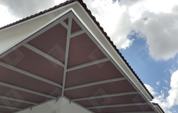 L-Shape Poly-carbonate Awning