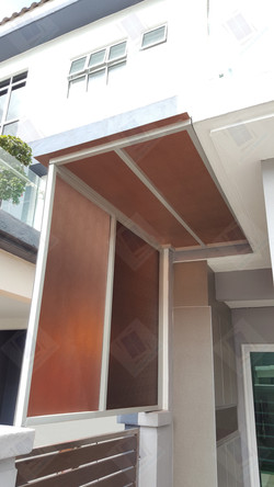 Poly- carbonate Awning
