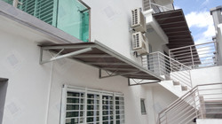 Poly-carbonate Awning