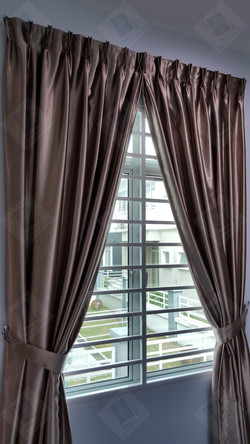 Black Out Curtains & Reflective Window Film