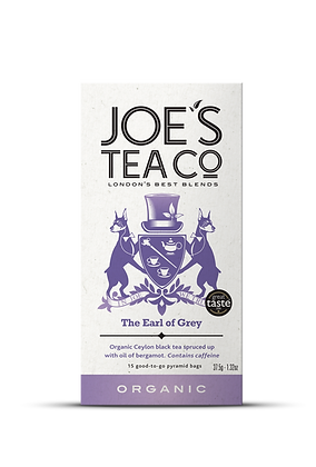 Joes Tea Co // The Earl of Grey