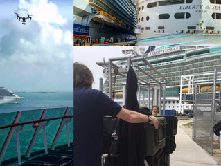 Flying our Drones for Royal Caribbean