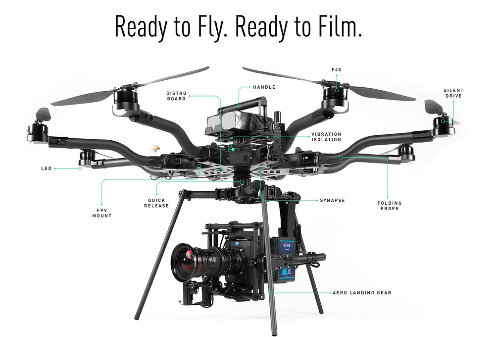 FTF now offers the best in Heavy Lift Drones form our Aerigon to the renowned Freefly System, The Alta 8 and MoVI M15 Gimbal