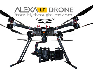 ALEXA LF DRONE - A World First