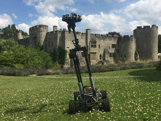 360° Buggy Filming Castle walk throughs