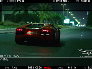 Chasing Lambo's on the set 'How I got There' in Kuwait using our new Ronin-2
