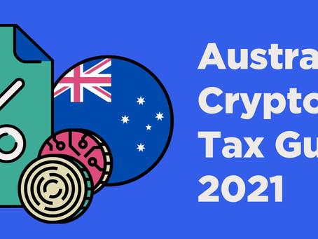Australian Crypto Tax Guide 2021