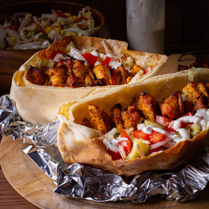 Chicken Gyros Kebab