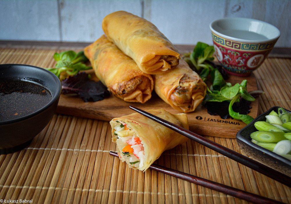 Seafood Spring Rolls Recipe