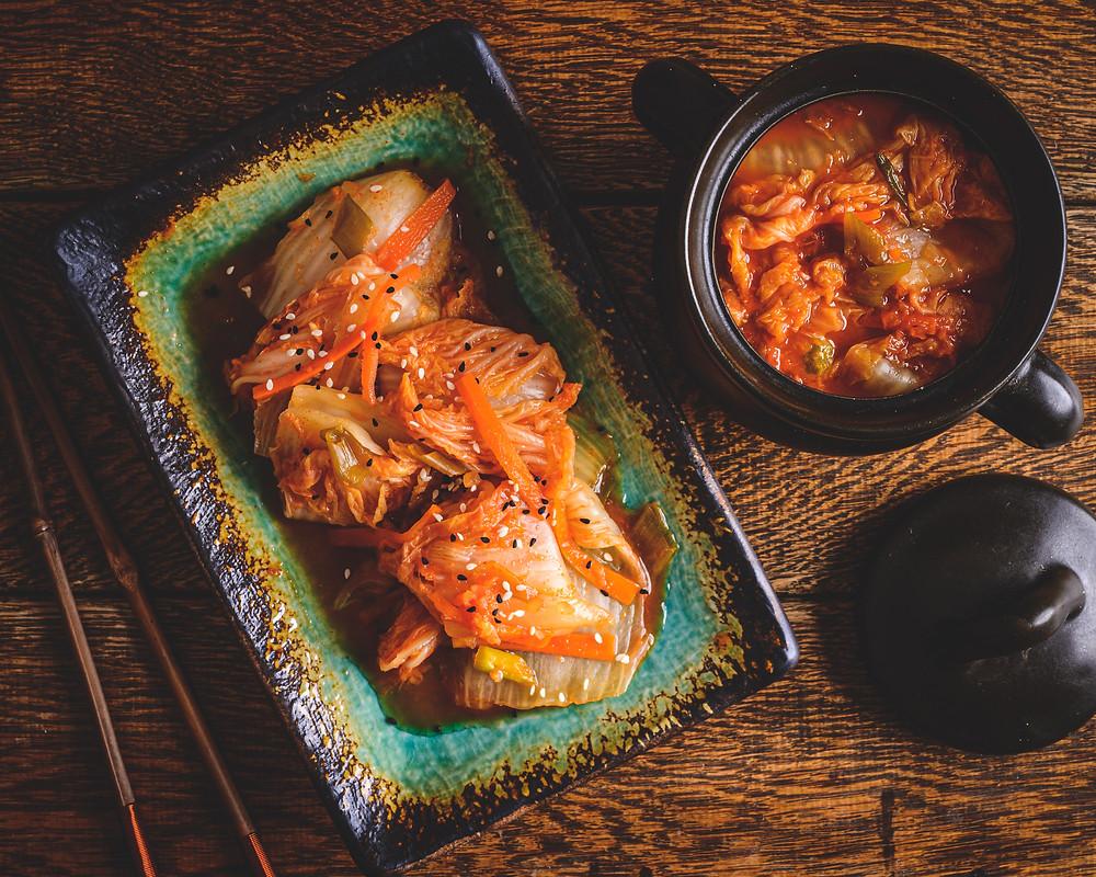 Kimchi Flat lay photo