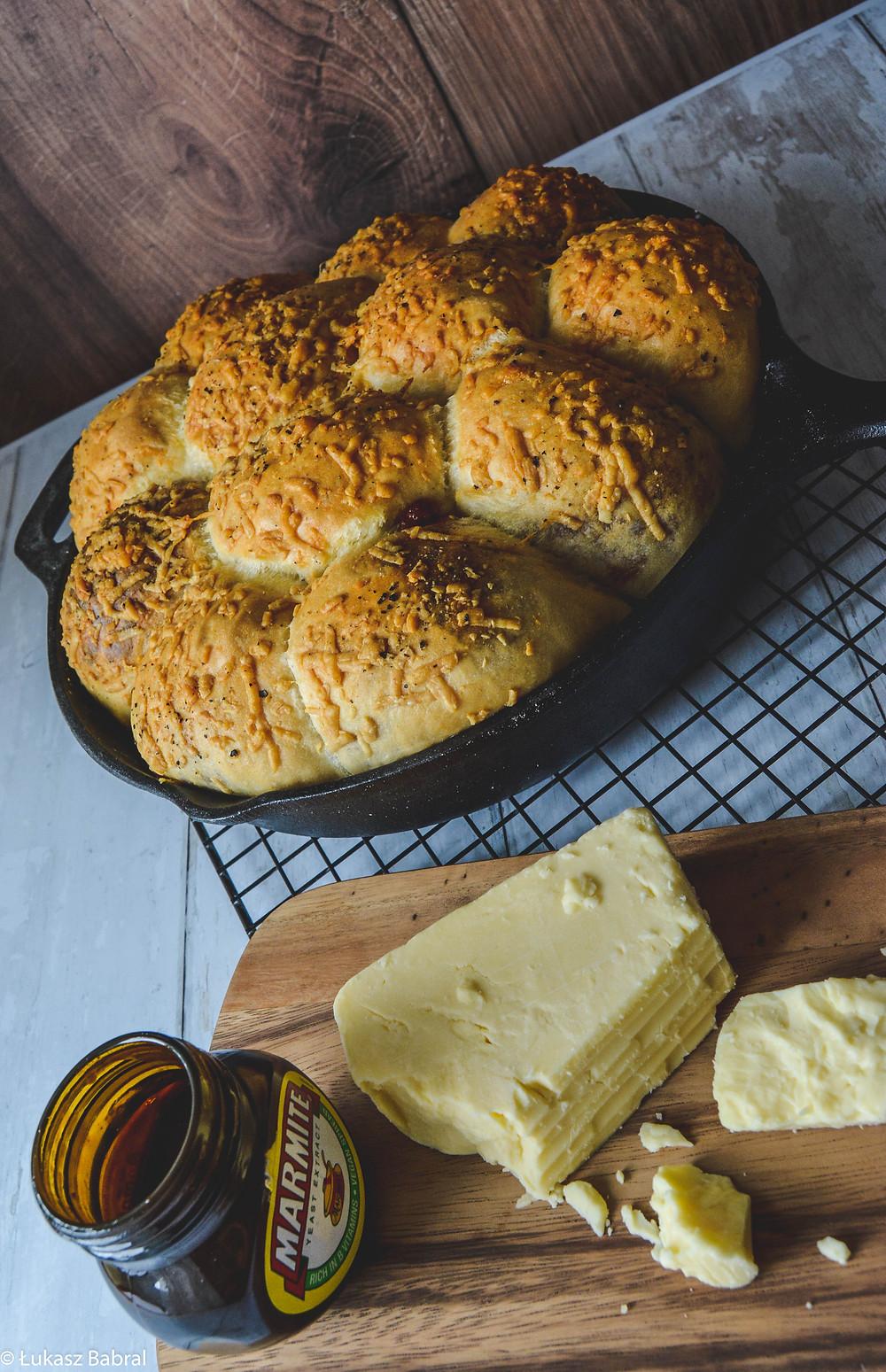 Cheddar & Marmite Tear and Share Bread Recipe