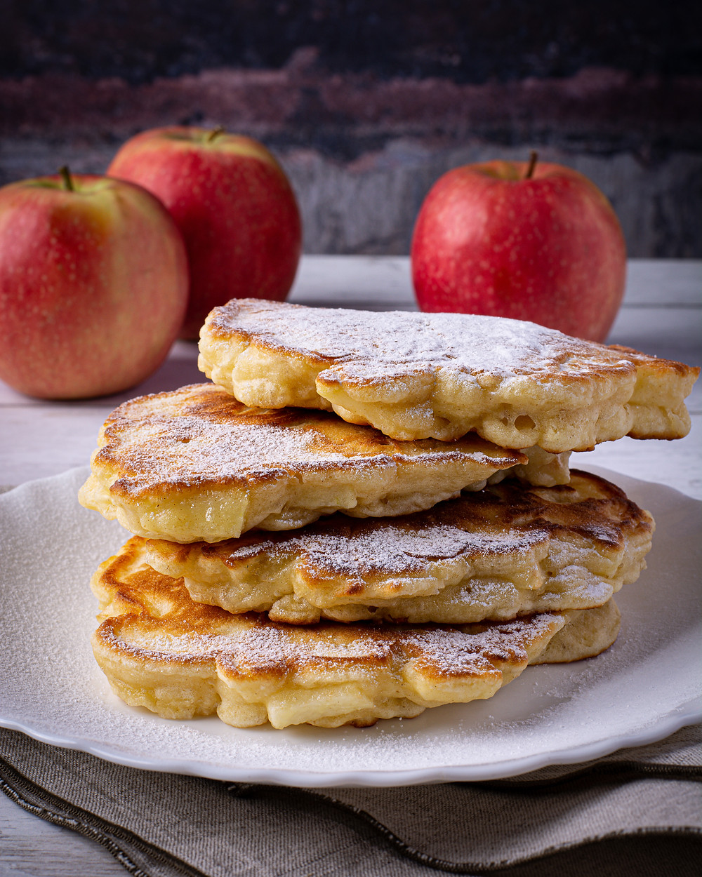 Polish Apple Pancakes (Racuchy z Jabłkami) Recipe