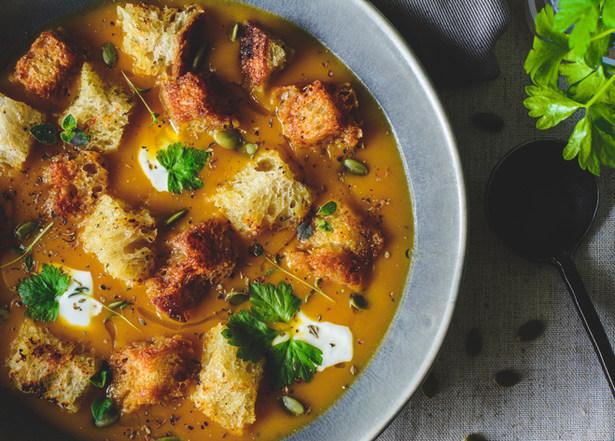 Butternut & Pumpkin Soup