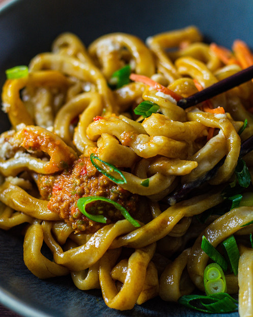 Hot Dry Noodle
